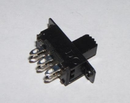 Miniature DPDT Slide Switch  - Pack of 5