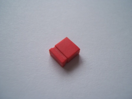 Red Jumper Link 2.54mm Pack of 10