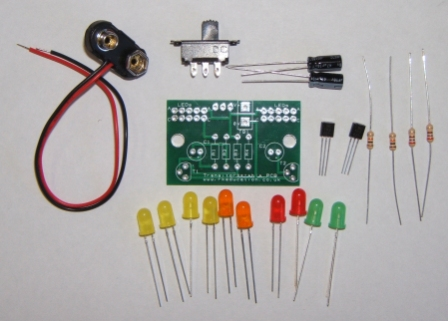 Transistor Astable/Multivibrator 2x BC182L Self Build Kit