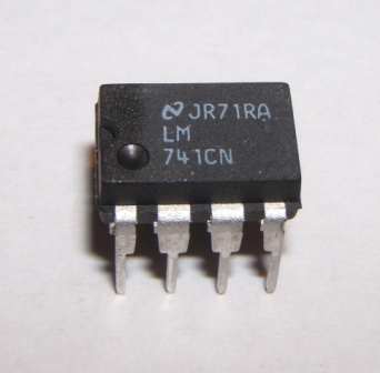 Ua741cn operational amplifier 8 pin dip pack of 1 for Home 741 741